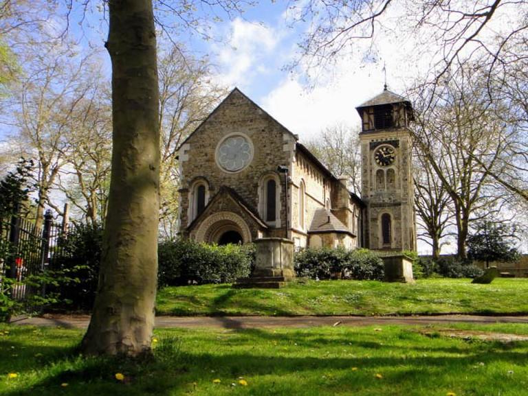 St Pancras Old Church   ©Matt Kiefer/flickr