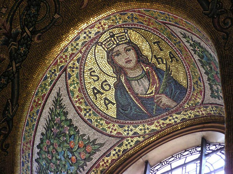 Westminster Cathedral mosaic   ©Arpingstone/Wikicommons
