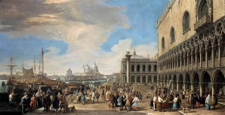 Venice: A View of the Molo |© JarektUploadBot/Wikicommons