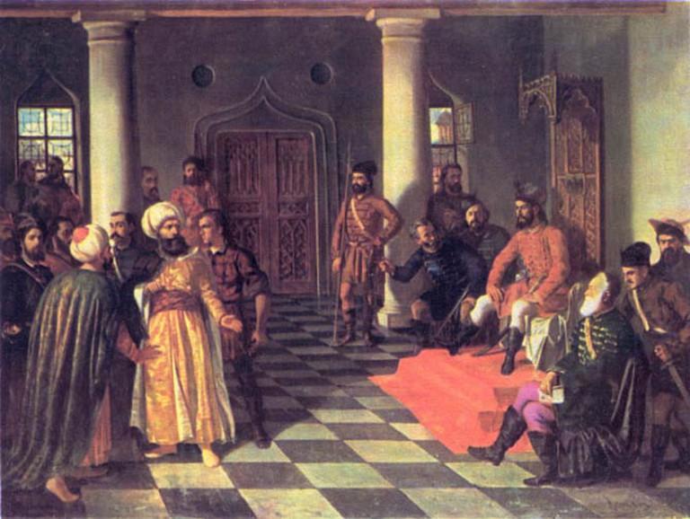 Vlad the Impaler and the Turkish Envoys (Theodor Aman) |© Bogdan/Wikicommons