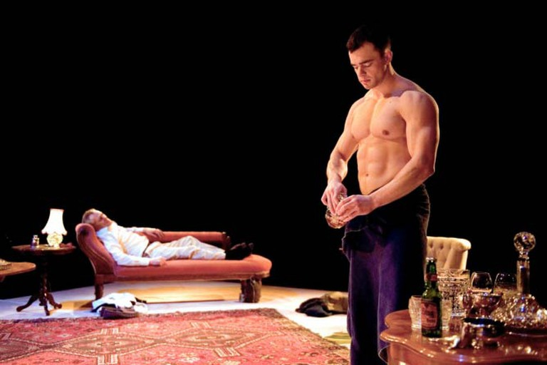 Gods and Monsters at the Southwark Playhouse © Annabel Vere