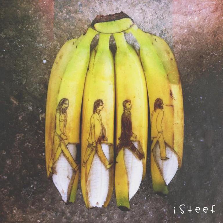 The Beatles, Banana Road   © Stephan Brusche