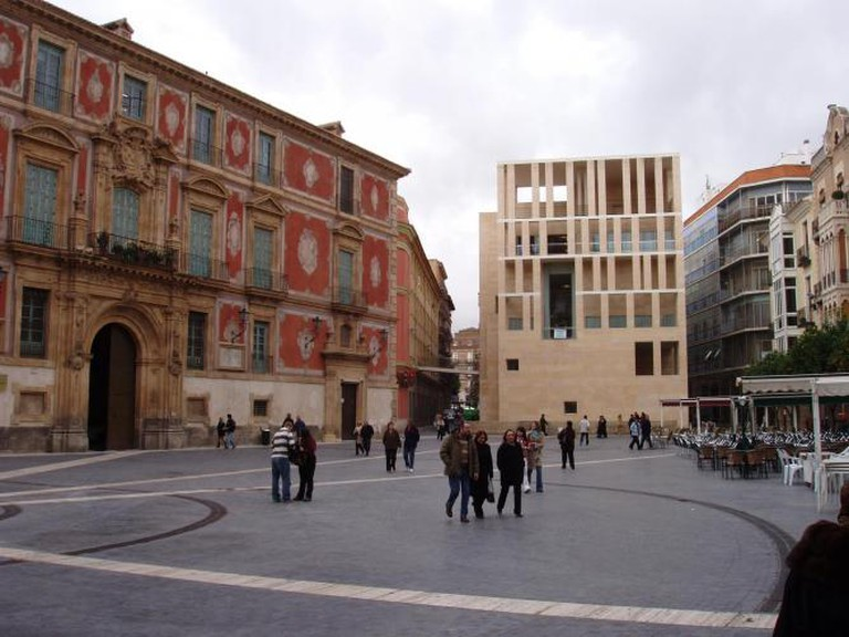 Murcia Town Hall on the Cardenal Belluga Plaza © Wikimedia