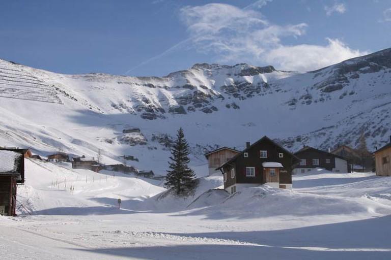 Malbun Ski Region (c) böhringer friedrich/Wikicommons