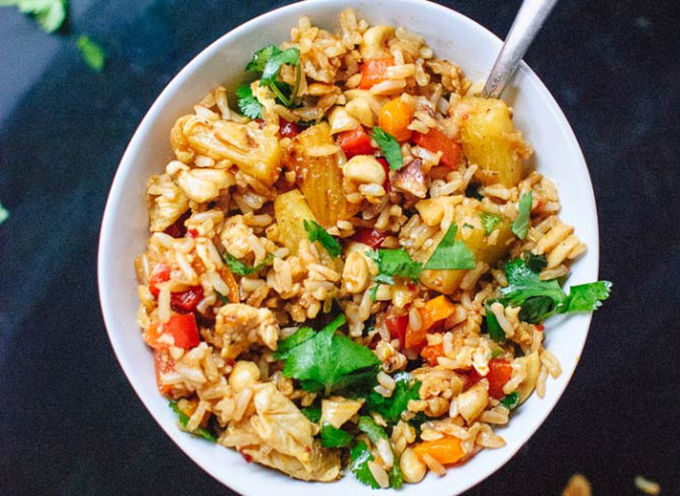 Thai Pineapple Fried Rice | © Courtesy Cookie and Kate