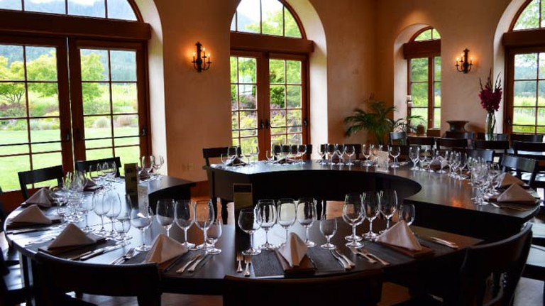 The dining room | © St Francis Winery & Vineyard