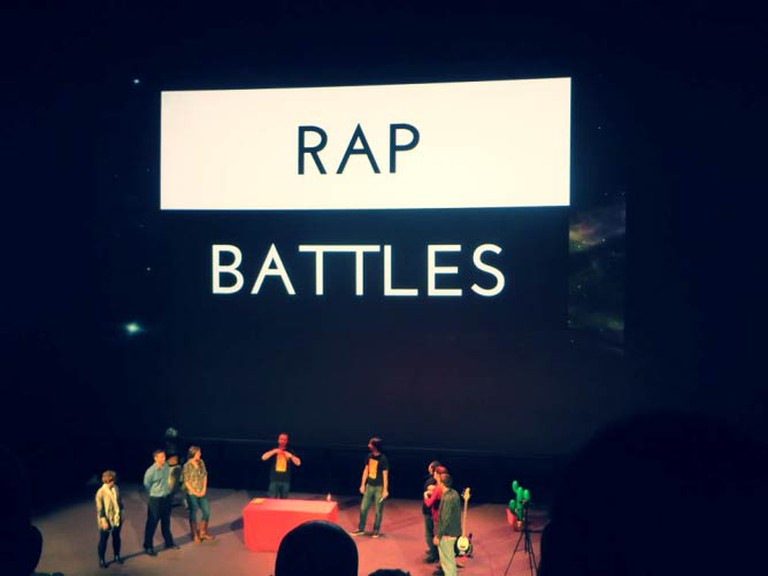 Rap Battles at Punk Science © The Science Museum