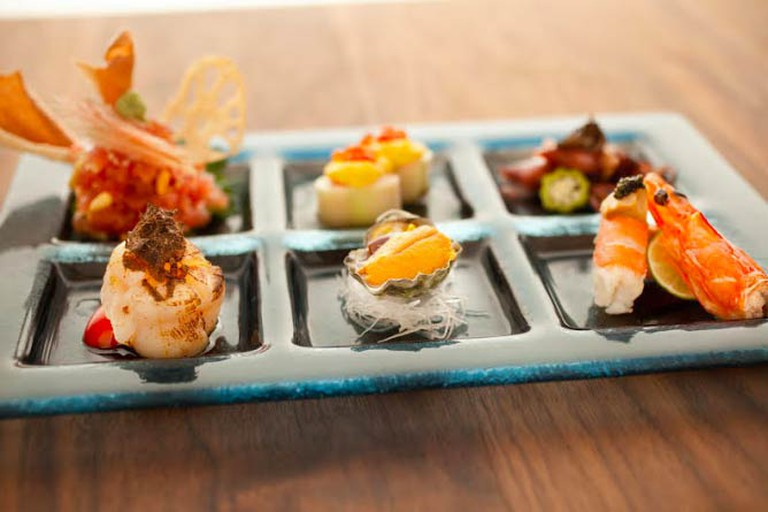 A signature dish at ShinBay | Courtesy ShinBay