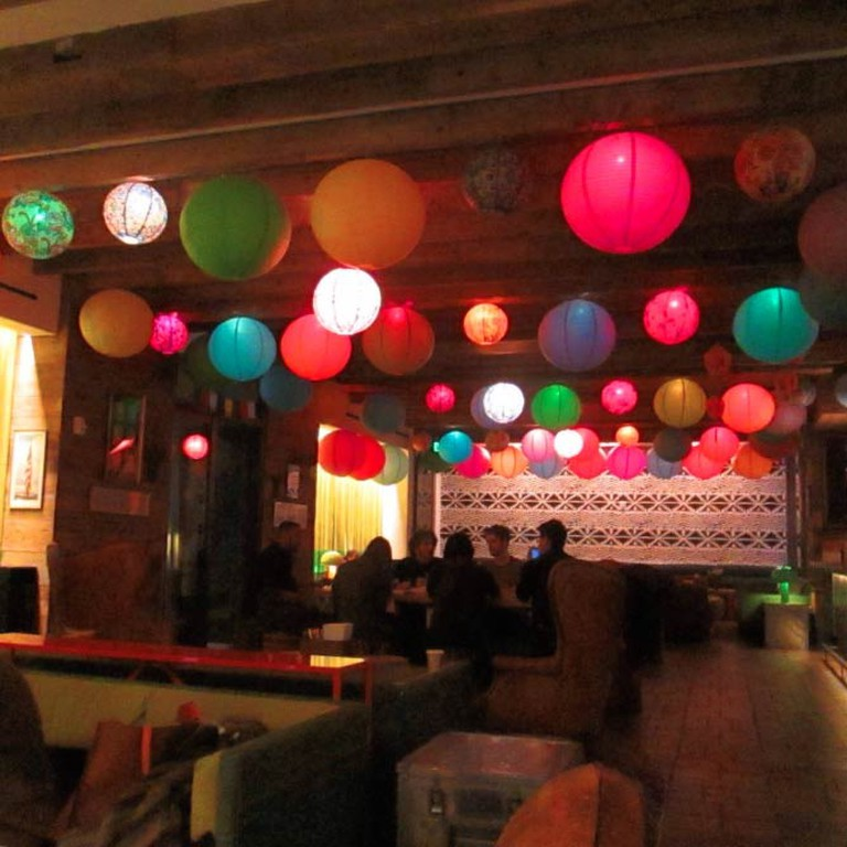 The Decor in the Lounge at Salvation Taco | © Jesse Kornbluth/The Culture Trip