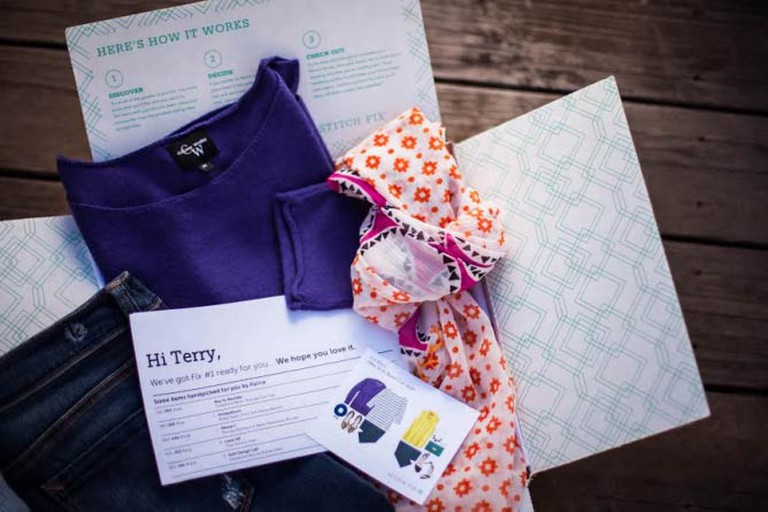 A customer's monthly 'Fix' includes five on-trend pieces | Courtesy Stitch Fix