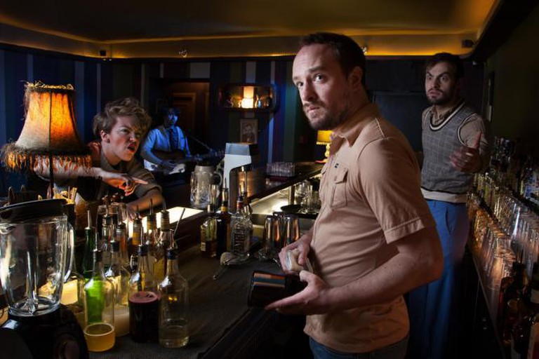 Ablutions, Fellswoop Theatre Company, Soho Theatre. Courtesy of Charley Murrell.