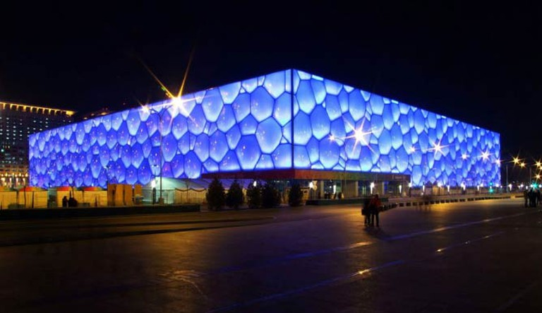 Beijing Watercube | © Charlie Fong/Courtesy of WikiCommons