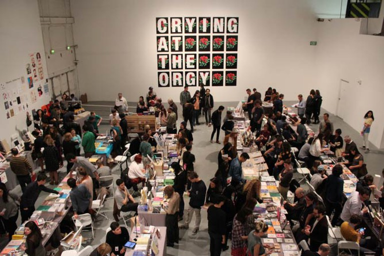 L.A. Art Book Fair. Photo by Evan Moffitt