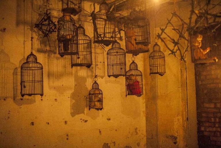 Unnerving Decorations/ Courtesy Grimm Tales