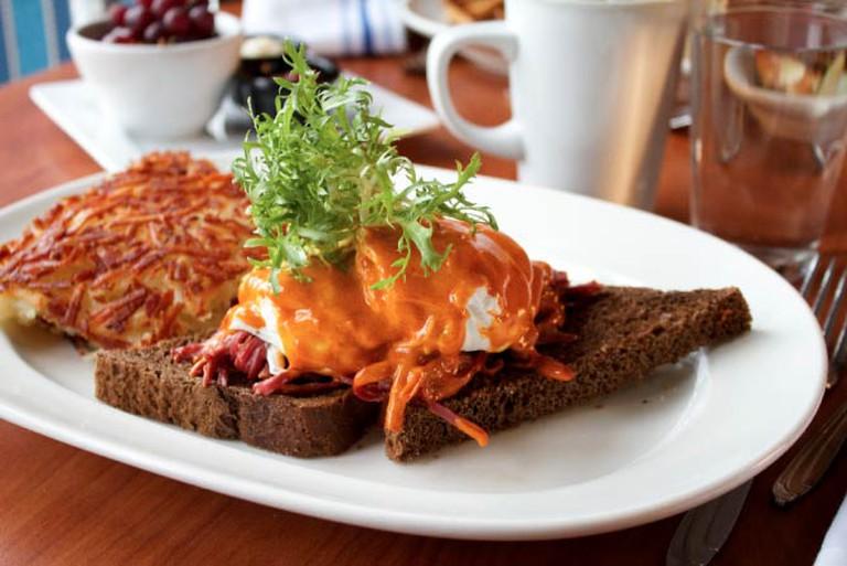 The Dubliner Benedict at Blue's Egg | Courtesy Blue's Egg