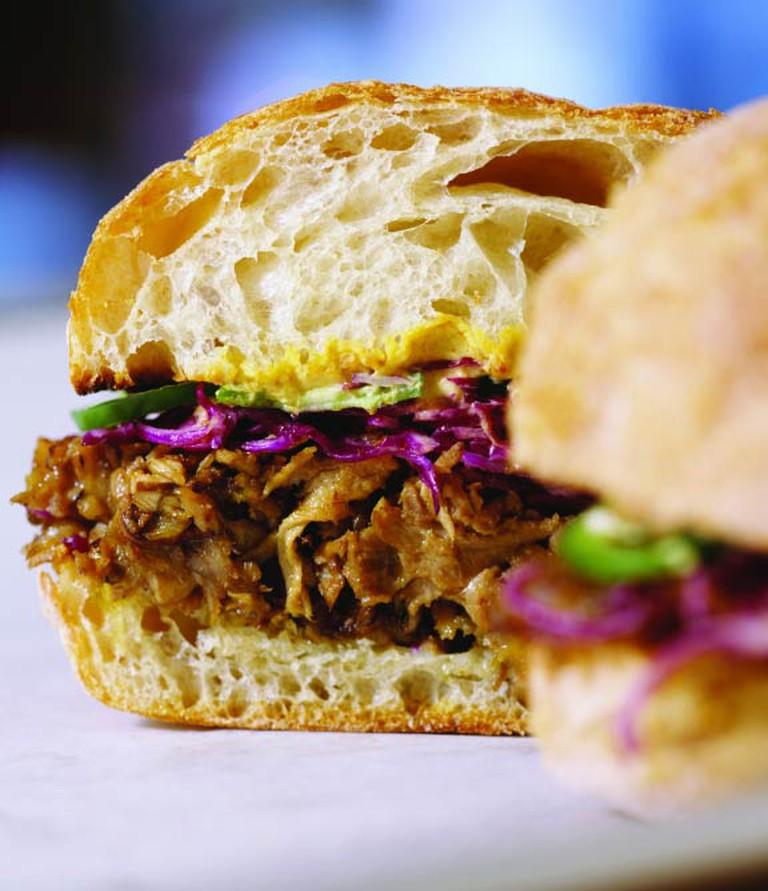 'wichcraft Pork & Cabbage sandwich