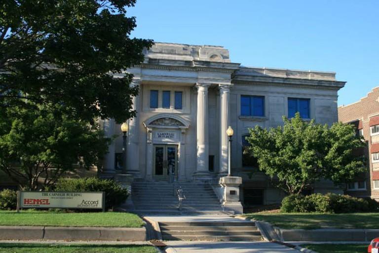Mason City Public Library (c) Dan Breyfogle/Wikicommons