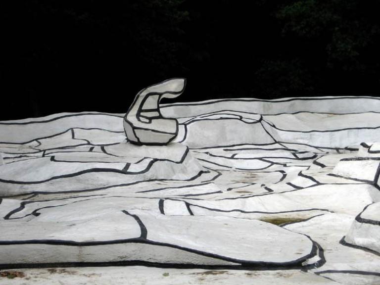 A detail from Jean Dubuffet's work in the Kröller-Müller sculpture Garden | © macchi/Flickr