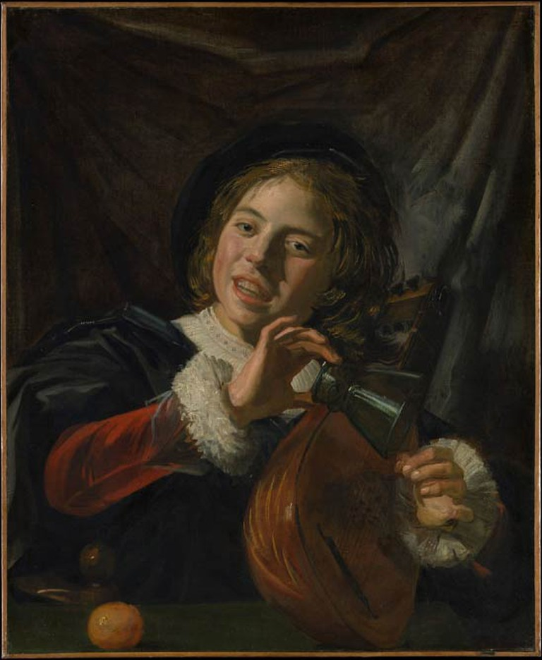 Frans Hals, 'Boy with a Lute' | © Crisco 1492/Wikicommons