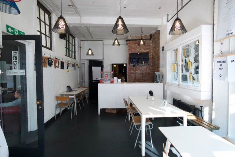 Makers Cafe. Photo credit Cris Rose.