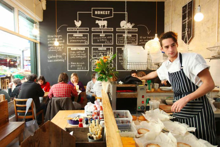 Interior of Brixton Joint | Courtesy Honest Burgers