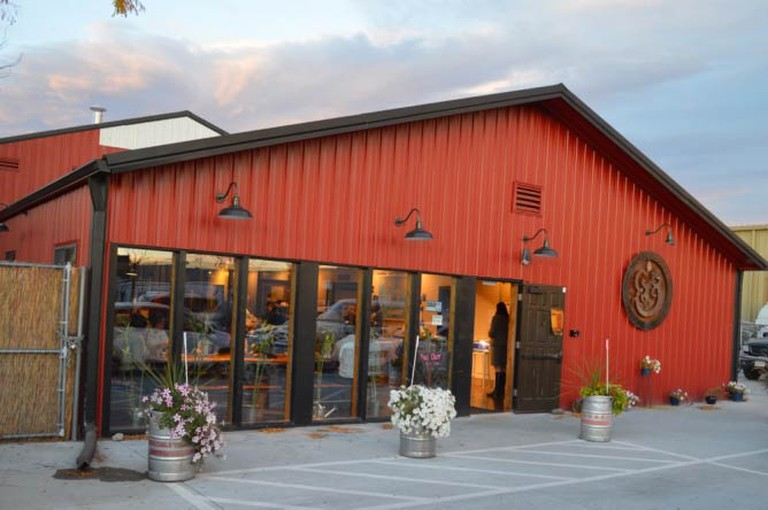 Exterior of Horse & Dragon Brewing Company | Courtesy of Horse & Dragon Brewing Company