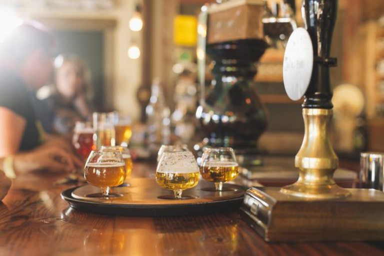 Craft brews at Elevation Beer Co. | Courtesy of Elevation Beer Co.