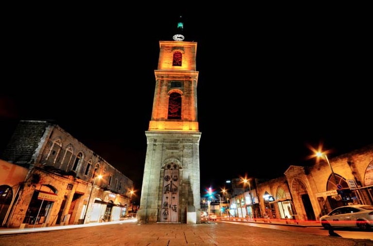 The Jaffa Clock Tower|© Daniel Winter/WikiCommons