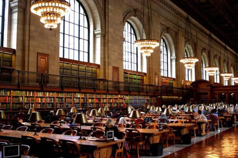 The Rose Reading Room, New York Public Library | © John Armato