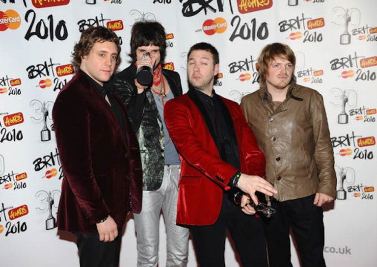 Kasabian at the Brit awards 2010