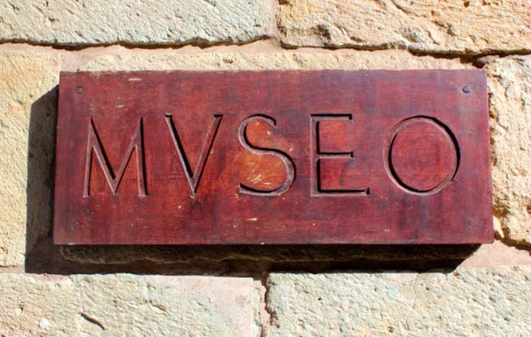 The MACO (Museo Signage)