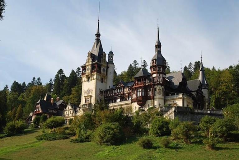 Peleş Castle, Romania.
