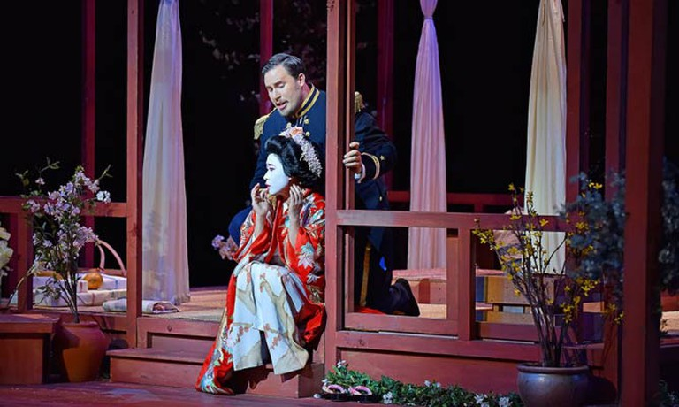 Hyeseoung Kwon and Jeffrey Gwaltney ©Royal Albert Hall