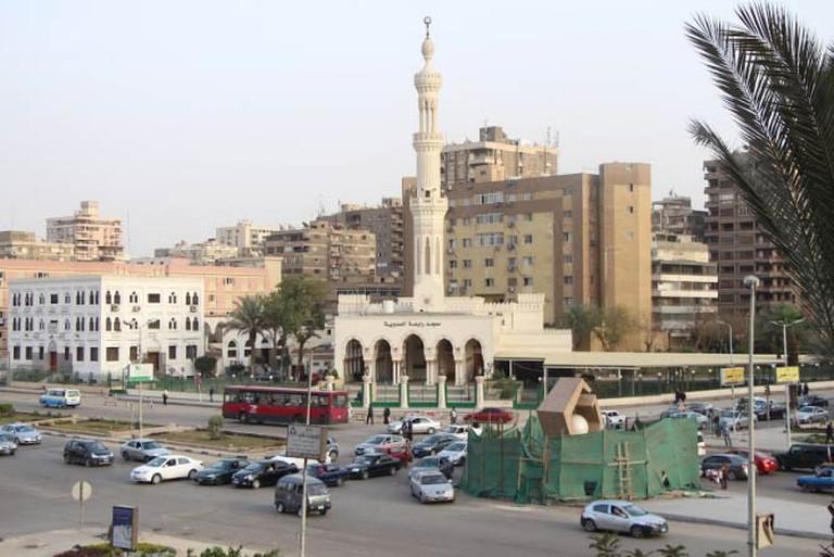 Rabaa mosque and memorial