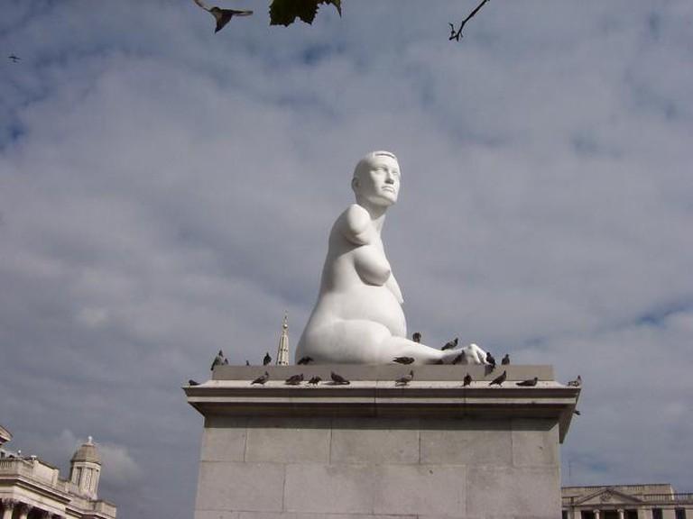 Marc Quinn's Alison Lapper Pregnant sculpture