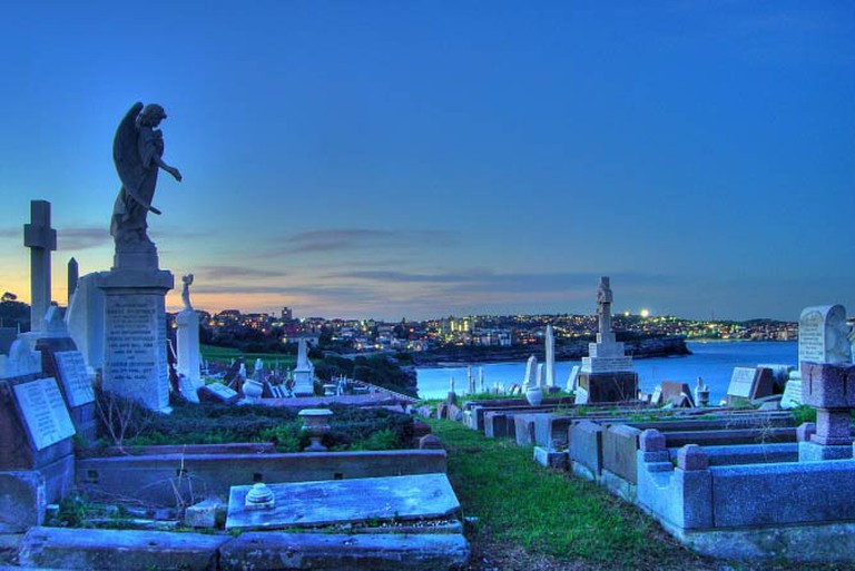 Waverley Cemetery at Bronte