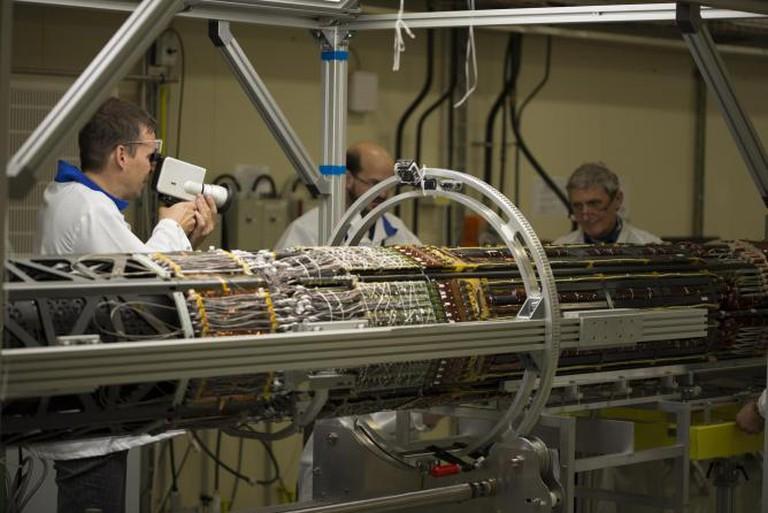 Jan Peters ATLAS Pixel Detector © Courtesy of CERN
