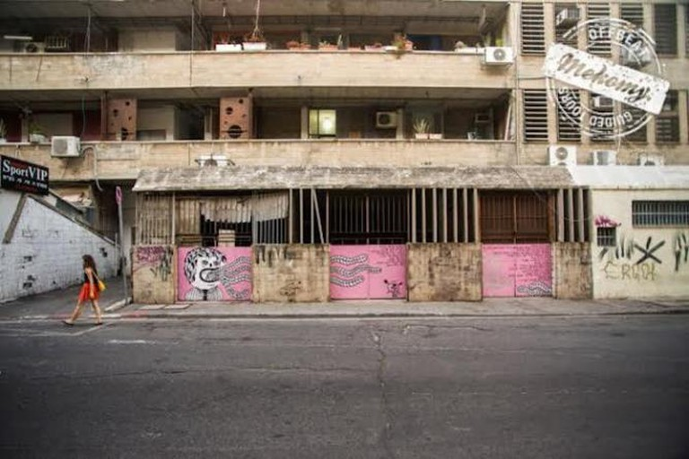 Street Art and Poetry in the Backyards of Tel Aviv  Mekomy