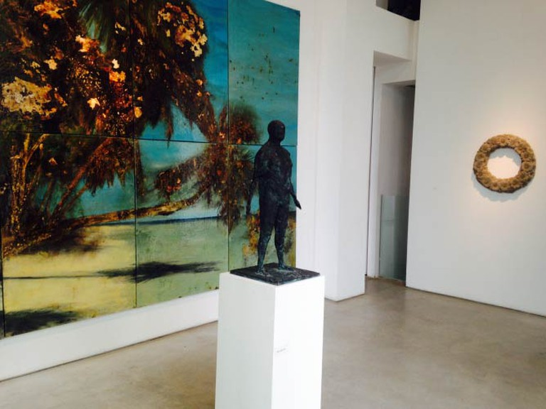 """A Concrete Fantasy"" Exhibition, An Installation View  