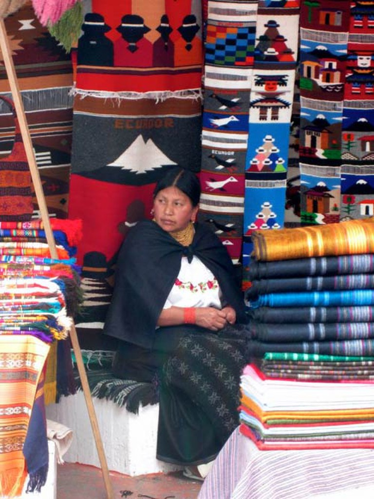 Otavalo saleswoman