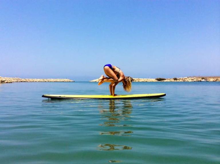 SUP Yoga Tel-Aviv | Courtesy of SUP Yoga Tel-Aviv