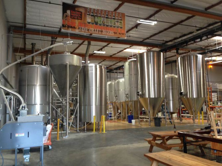 Interior of Knee Deep Brewing Co. | Courtesy of Knee Deep Brewing