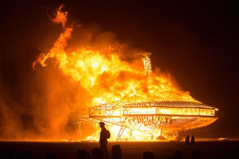 Burning Man   © Ray Terrill/Flickr