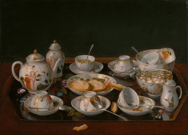 Jean-Etienne Liotard, 'Still Life: Tea Set'