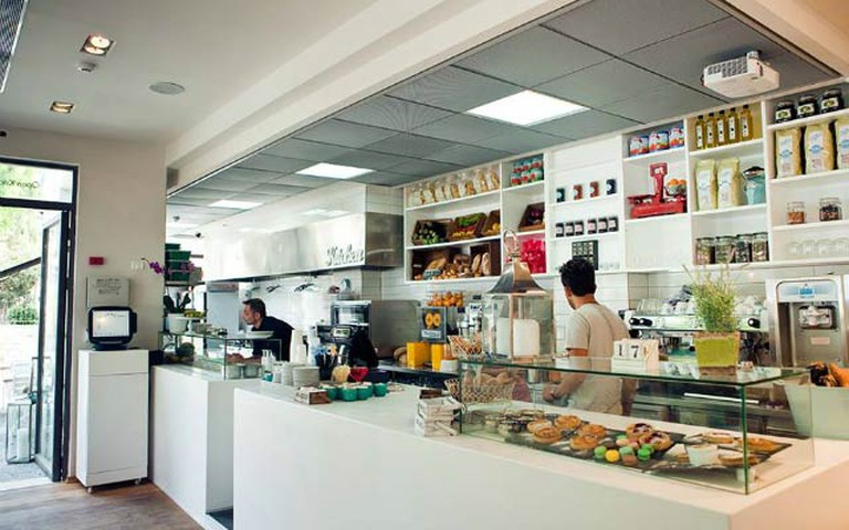 The open kitchen at Soyo I @Baligam.co.il