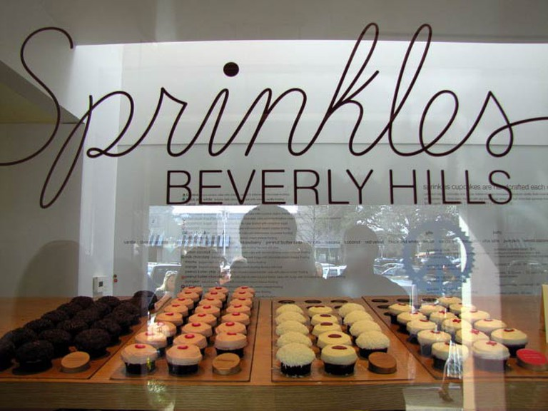 Sprinkles Cupcakes Beverly Hills, whose famous ATM machine runs 24/7.