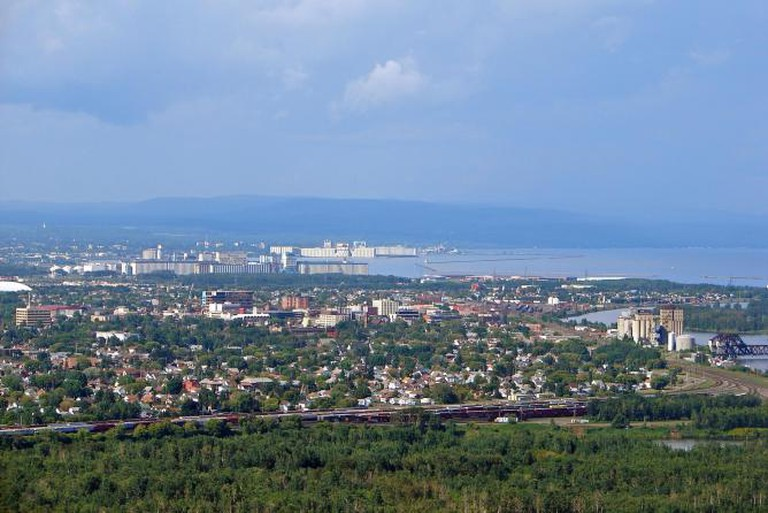 Thunder Bay (from Mount McKay), Ontario, Canada © P199