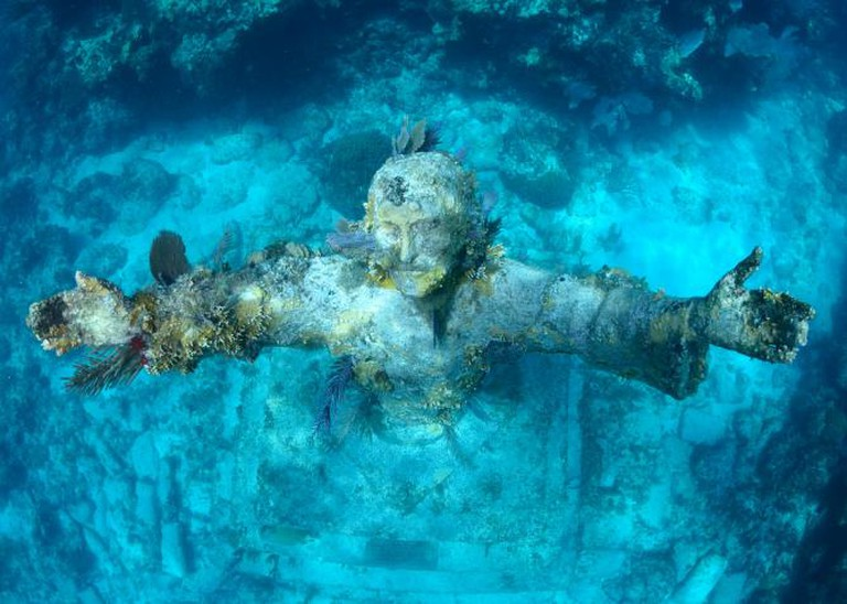 Christ of the Abyss   © Wilfred Hdez Flickr