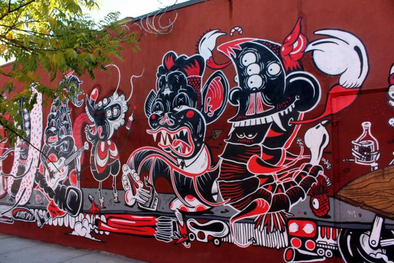 Bushwick, Brooklyn: Sheryo and The Yok © Wally Gobetz/Flickr