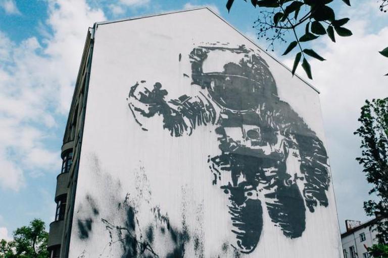 Ash, 'Astronaut Cosmonaut', Kreuzberg Quarter, Berlin | © Hans Veneman/Flickr